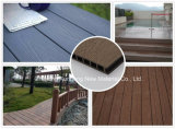 Recycled Regular Wood Plastic Composite Decking for Swimming Pool, Garden