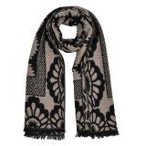 Werpt 180*65cm Omkeerbaar Gebreid Kasjmier van vrouwen als Warm van de Winter Geweven de Sjaal van de Sjaal (SP256)