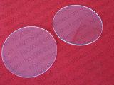 Plaat 3mm Th van het Kwarts van de Vorm van het Wafeltje van het Kwarts van Baibo Transparante Cirkel