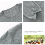 Pullover-runde Stutzen-Wolle-Strickjacke des neuen Form-Mädchens strickende