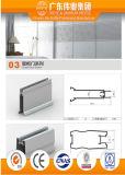 Profil en aluminium pour la garde-robe avec la variété de couleur
