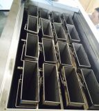Aço Staninless 2 toneladas/dia Bloquear a máquina de gelo com belos Compressor