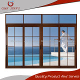 Fabrik-Preis-Aluminiumdoppelverglasung-Schiebetür-Panel-Glas-Tür