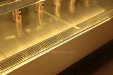 까만 미러 Stainles 세륨, Saso를 가진 케이크를 위한 강철에 의하여 구부려지는 전시 진열장