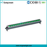 18PCS de alta potencia 12W Rgbaw de pared LED de luz lavado