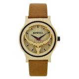 La madera nueva llegada de los hombres reloj de cuarzo con Japón Movt Wholeasle Relojes de madera