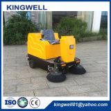 Spazzatrice compatta elettrica del pavimento Kw-1200