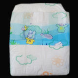 Super respirante 100% coton agréable les couches pour bébés ceinture élastique tissu Non-Woven jetables
