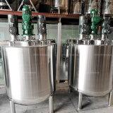 Tanque de mistura de suco de alta qualidade com agitador e três motores
