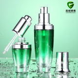 Cosmetics Glass Lotion Bottle and Glass Jar