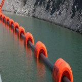 HDPEのプラスチック浮遊浚渫機の管の大口径Dn500mmのHDPEの管の価格