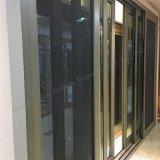 De aluminio de alta gama puerta corrediza de vidrio con control automático
