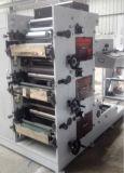 Máquina de impressão de Flexo para que o rolo da etiqueta role