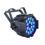 Vendita calda 18PCS LED 5 in 1 indicatore luminoso esterno di PARITÀ di RGBWA IP65 LED