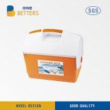 Im Freien kampierender Minimedizinischer Kühlvorrichtung-Großhandelskasten des plastik5l