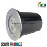 indicatore luminoso subacqueo della piscina dell'acciaio inossidabile LED di 9W IP68