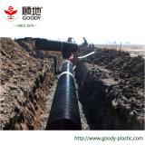 L'acier industriel de poids léger a maillé la pipe renforcée de polyéthylène