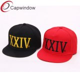 100% полиакрил Snapbackколпачок и Red Hat в 3D или плоской вышивкаXxiv