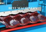 Roulis de panneau de tuile et de mur de toit de tôle d'acier de profil formant la machine