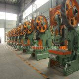 J23-10t operado Máquina de perfuração 10 Ton Punch Pressione a máquina com a potência mecânica