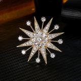 In het groot Juwelen met AMERIKAANSE CLUB VAN AUTOMOBILISTEN Kubieke Zircon voor Juwelen van het Messing van de Manier van de Broche van de Partij van de Vrouw de Elegante Goud Geplateerde