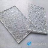 Grau a Folha de policarbonato em relevo