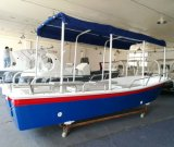 China-Boots-Fertigung Liya 5.8m Fiberglas-Wasser-Taxi für Verkauf