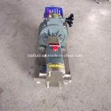 Prix de l'essence de vitesse de machine de prix usine/pompe rotatoire de lobe