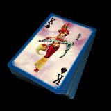 Impressão personalizada 280gsm Azul Chinês Core cartões de póquer