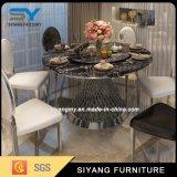 Muebles del comedor que cenan el vector de cena casero determinado de la mesa redonda