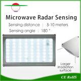Éclairage solaire radar à micro-ondes le capteur de mouvement avec réglage de la commande à distance