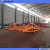Rampa di caricamento mobile dell'iarda del magazzino della rampa del contenitore della rampa idraulica del bacino per il carrello elevatore