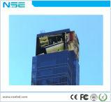 P20 impermeable de alta cortina LED pantalla transparente para la construcción de fachada