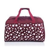 女性は偶然の印刷の荷物の衣服旅行Duffle袋を作る