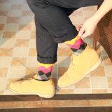 Цветастые носки спорта носок хлопка способа носок диаманта наиболее поздно конструируют