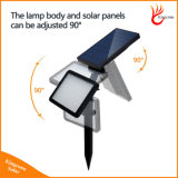 Super Bright Solaire feux en plein air le capteur de mouvement de la sécurité Mur Lampe LED solaire pelouse