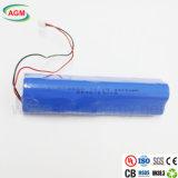 3s2p Icr18650 11.1V 4400mAhのリチウムイオン電池のパックのリチウム電池