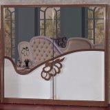 Klassische Schlafzimmer-Möbel mit König Size Bed (6619)