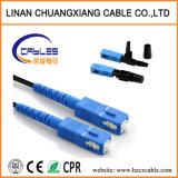 광섬유 케이블 접속 코드 Sc Sc 단일 모드 1m