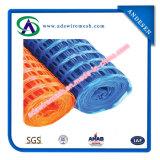 Tutta la rete fissa di plastica di colori, barriera di sicurezza