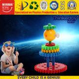 Haute qualité des blocs colorés de bricolage grand train de jouets éducatifs