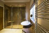 Base de marbre blanche de plateau de douche de Bianco Cararra pour la tuile de marbre de salle de bains