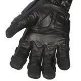 カーボンファイバーを持つ警察のための黒い殴打の警察の戦術的な手袋