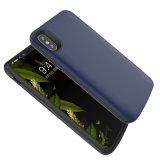 Cas ultra-mince de côté de pouvoir pour la batterie neuve de cas modèle d'Iphonex