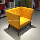 Wooden Leisure Office Individual Furniture Design Fabric Sofa