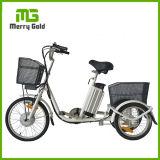 """20 de """" triciclo eléctrico adulto del cargo 3 ruedas con la certificación del Ce"""