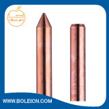 Kupfer-plattierte Stahlmasse Rod des verlegten Enden-zwei
