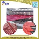 PVC+PMMA-ASA Rolle, die den glasig-glänzenden Dach-Fliese-Plastikextruder herstellt Maschine bildet