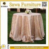 도매 호화스러운 결혼식 Sequin 테이블 피복