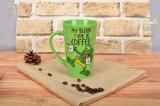 Glaseado verde Diseño fresco bastante etiqueta personalizada con la caja de regalo